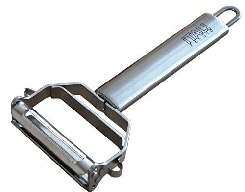 Itali Passio® - Deluxe Stainless Steel Dual Julienne Peeler & Vegetable Peeler