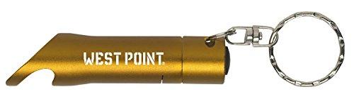 United States Military Academy at West Point - LED Flashlight Bottle Opener Keychain - Gold