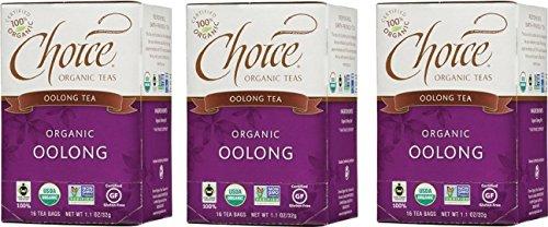 Choice Organic Fair Trade Oolong Tea 3 Count