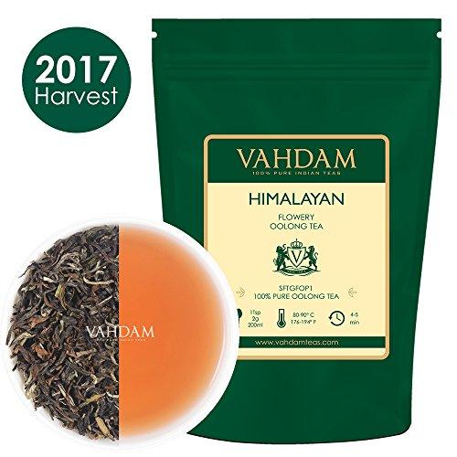 Himalayan Flowery Oolong Tea Leaves 50 Cups Hand-Picked Oolong Tea Loose Leaf 100 NATURAL Detox Tea 353oz Weight loss Tea Slimming Tea A Perfect Everyday Loose Leaf Oolong Tea Healthy Tea