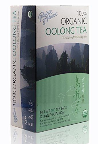 Prince Of Peace Organic Oolong Tea-100 Tea Bags net wt 635oz 180g 1