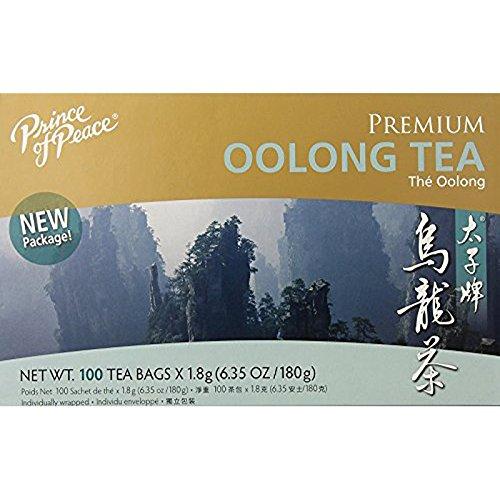 Prince of Peace Oolong Tea - 100 Tea Bags net wt 635oz 180g