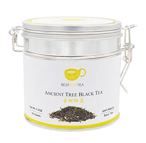Best Leaf Tea-YunNan Ancient Tree Black Tea YunNan Gushu Black Tea90g 32 Oz