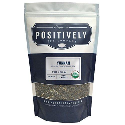 Organic Yunnan Tea Loose Leaf Bag Positively Tea LLC 1 LB
