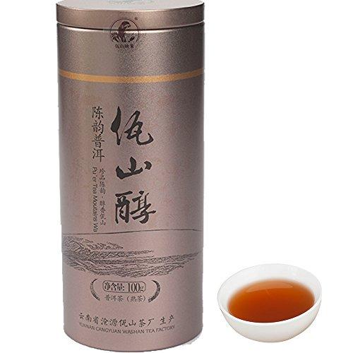 Washan Tea 100 Natural Yunnan Loose Leaf Puerh Tea Chinese Pu-erh Tea 100g35 ounces