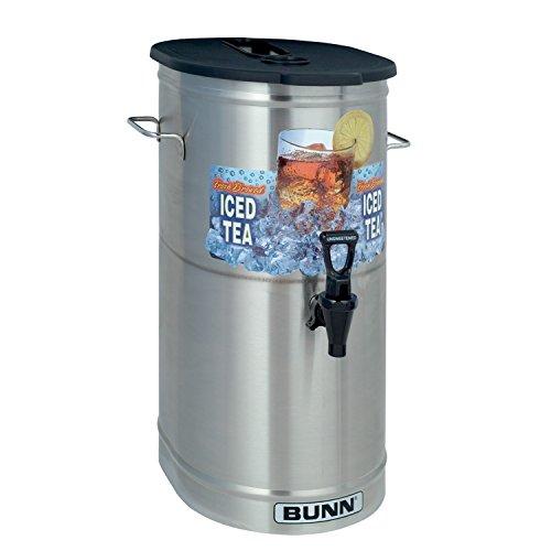 BUNN TDO-4 Commercial Iced Tea Dispenser wBrew-Thru Lid Oval