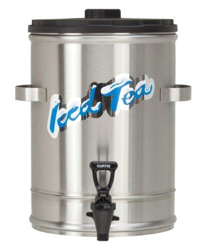 Wilbur Curtis Iced Tea Dispenser 30 Gallon Tea Dispenser Stackable - Designed to Preserve Flavor - TC3S Each