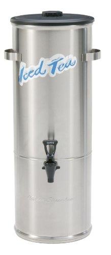Wilbur Curtis Iced Tea Dispenser 50 Gallon Round Tea Dispenser - Designed to Preserve Flavor - TC-5H Each