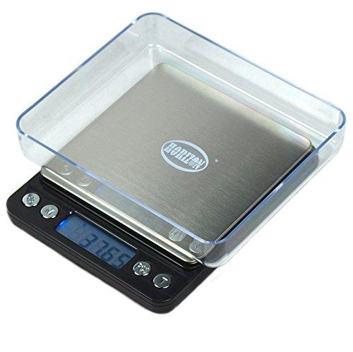 Horizon Acct-500 Digital Precision Jewelry Scale W/ Trays, 500 G By 0.01 G