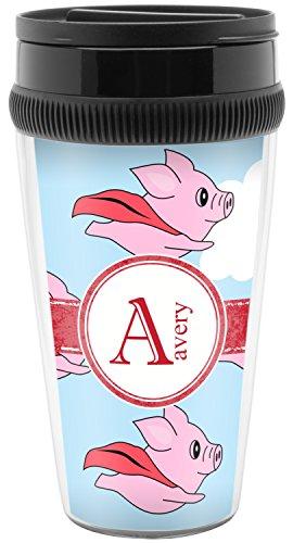 Flying Pigs Travel Mug Personalized