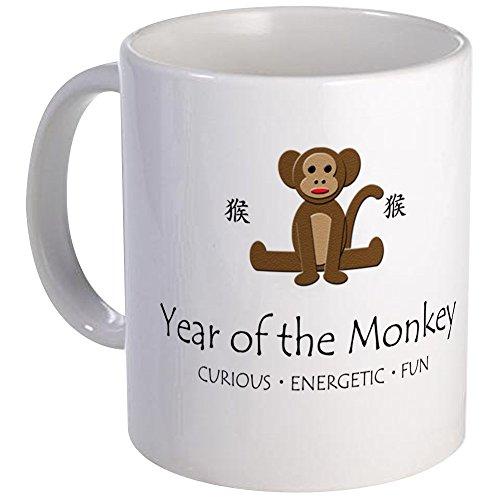 CafePress - Year Of The Monkey Mug - Unique Coffee Mug Coffee Cup