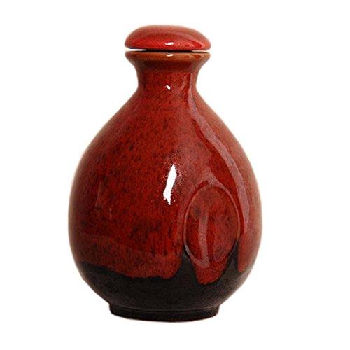 Japanese Ceramic Sake Bottle Sake Pitcher Creative Decoration 500 ML C