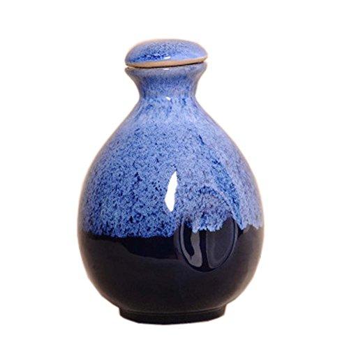 Japanese Ceramic Sake Bottle Sake Pitcher Creative Decoration 500 ML D