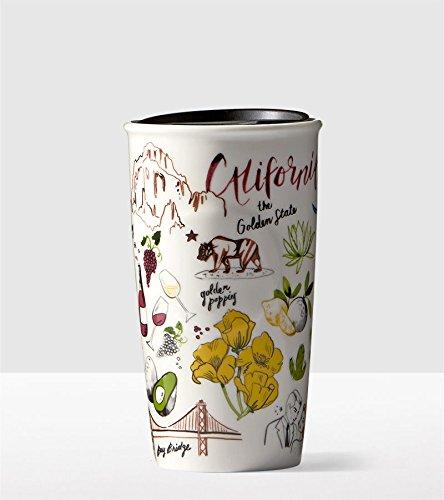 Starbucks 2016 California Collectors 10 oz Ceramic Tumbler