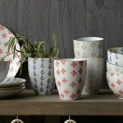 Waterside Ceramic Tumbler Set of 4