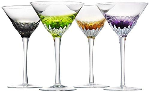Artland Solar Martini Assorted Set of 4