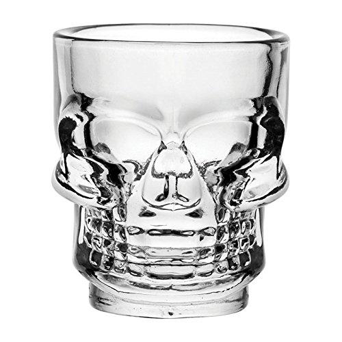 Hospitality Glass Brands HG90206-024 Skull Shot 15 oz Pack of 24