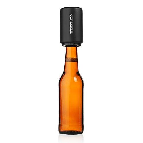 Corkcicle Decapitator Bottle Cap Opener Black