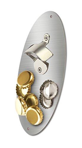 KOVOT Magnetic Bottle Opener With Magnetic Cap Catcher - 10 x 5