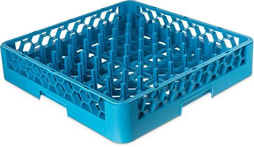 Carlisle RP14 OptiClean All-Purpose Plate Tray Rack Polypropylene 2075 Length 2050 Width 400 Height Blue Case of 6