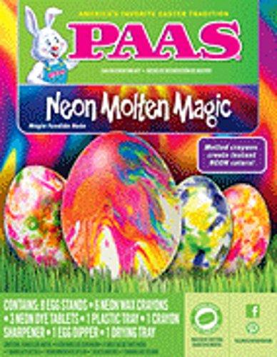 Paas Neon Molten Magic Easter Egg Decorating Kit