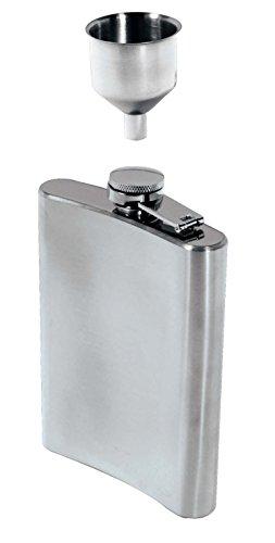 SE HQ90 Stainless Steel 8-Oz Hip Flask Funnel Set