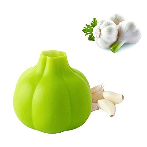 Garlic Peeler Food Grade Silicone Garlic Presser Tube Roller Different Styles Useful Kitchen ToolsSet of 2