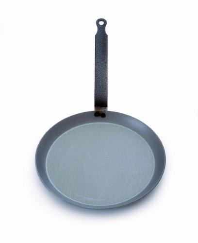 Mauviel M'steel Crepe Pan, 9.5-inch