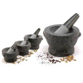 Granite Mortar Pestle Medium 7 by TastePadThai