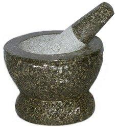 Thai Super-Size Granite Mortar and Pestle 9