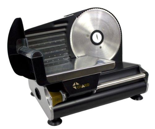 CHARD FS-750B Electric Slicer, Black, 7.5-Inch