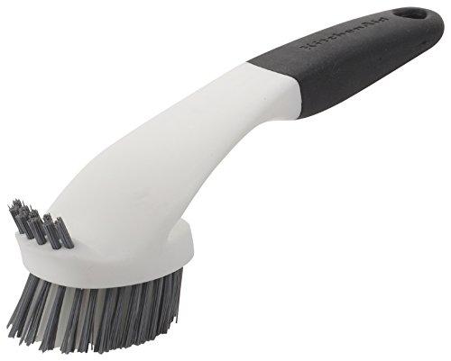 Kitchenaid Sink Brush with Bristle Top Bottom Black