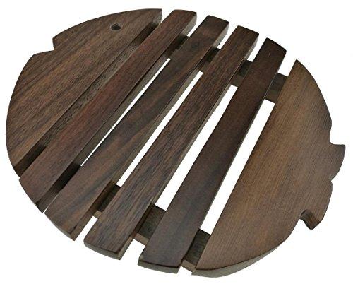 Cute Fish Shape Heat Proof Heat Protective Heat Insulated Heat Resistant Non-Slip Insulation Table Mat Potholder Pot Pad Coaster Tableware Walnut