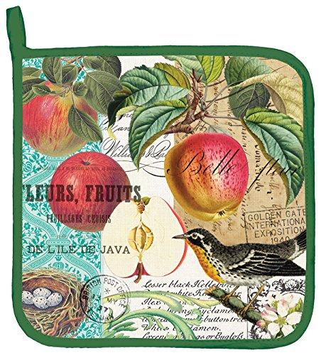 Michel Design Works Cotton Potholder Sweet Apple