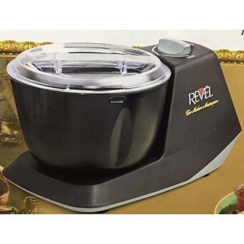 WGC Revel CDM301 Atta Dough Mixer Maker Non Stick Bowl 3 L Black