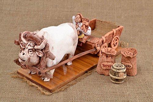 Handmade Ceramic Salt Shaker Clay Pepper Shaker Clay Tableware Kitchen Decor By MadeHeart