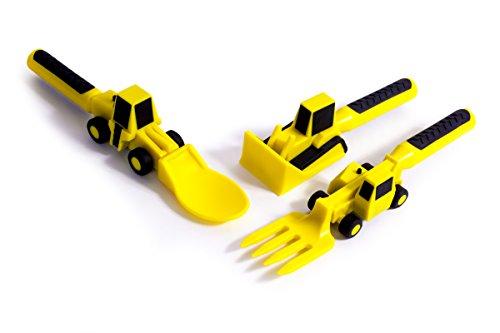 Constructive Eating - Set of Construction Utensils