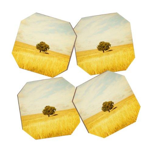 Deny Designs Barbara Sherman Solitary Coasters Set of 4