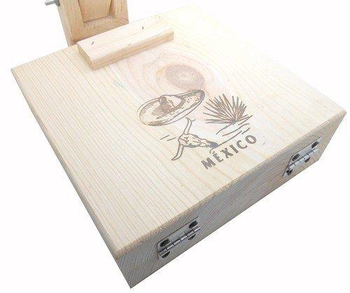 Mexican 9 inch Manual Tortilla Maker Press Wooden