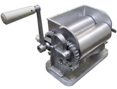 NEW Made in Mexico Monarca Manual FlowerCorn Aluminum Tortilla Maker Roller Press