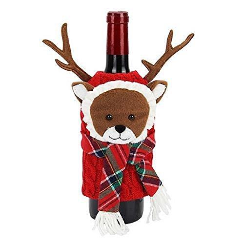 Food network Wine Bottle Covers Reindeer