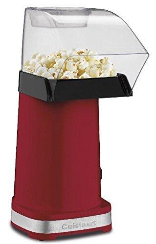 CPM100 EasyPop Hot Air Popcorn Maker Red Corn Popper Roaster Healthy Gourmet
