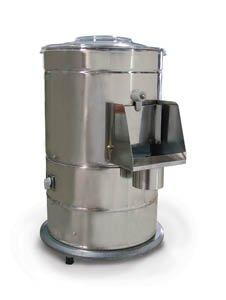 FMA Omcan Food Machinery DB10 Electric Potato Vegetable Peeler 440lbhr