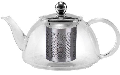 Uniware Glass Kettle Tea Pot, 1200ml