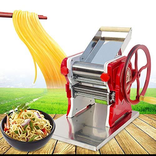 Pasta Maker Electric Pasta and Noodle Maker Mult-functional Manual Noodle Dumpling Skin Maker Machine for Spaghetti Noodle Dumpling US Shipping