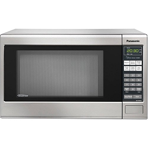 Panasonic 1200w 1.2 Cu. Ft. Countertop Microwave Oven, With Inverter Technology, Nn-sn661s, Stainless Steel (certified