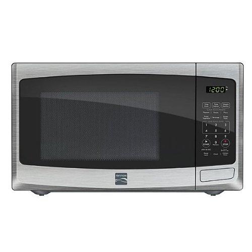 Kenmore 0.9 Cu. Ft. Countertop Microwave Stainless Steel 73093