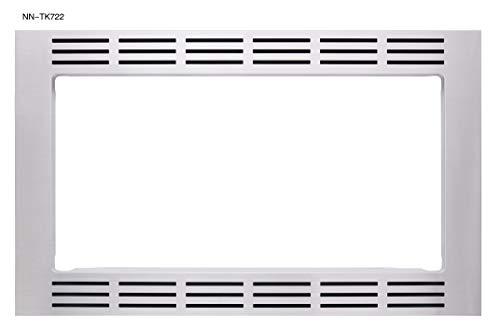 Panasonic 27 Microwave Trim Kit for Panasonic 16 cu ft Microwave Ovens - NN-TK722SS Stainless Steel