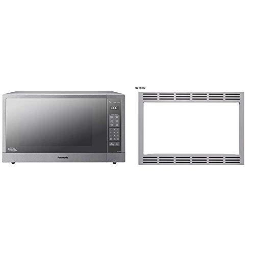Panasonic 27 Microwave Trim Kit for Panasonic 22 cu ft Microwave Ovens - NN-TK922SS Stainless Steel