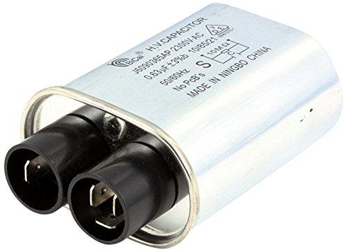 Panasonic A60903650AP High-Voltage Capacitor for Panasonic NE-1257CR NE-1257R and NE-1258R Microwave Ovens